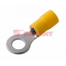 Наконечник НКИ кольцо 4-6мм d2 = 6.5мм желтый REXANT