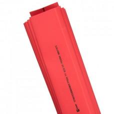 Трубка термоусадочная ТУТ 40/20 красная 1м (25шт/упак) ЭКФ