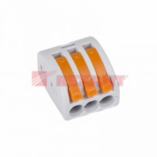 Клемма розеточная REXANT 07-5253-4 (3х4мм2) (50 шт/упак)