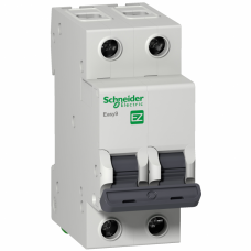Автомат 2П 50А хар-ка C 6кА 230В -S- Easy9 Schneider Electric  EZ9F56250