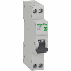 Дифф автомат 1П+N 16А хар-ка C 4,5кА 10мА AC 18мм Easy9 Schneider Electric