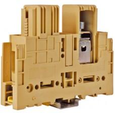 Зажим силовой GPM240/CC(Ex) 240мм2 кабель/кабель бежевый DKC