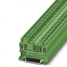 Клемма проходная желтая 2,5 мм2 зеленая ST 2,5 GN - 3037106 Phoenix Contact