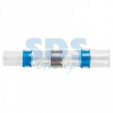 Соединитель термоусаживаемый под пайку L-40 мм 1,5-2,5мм (ПК-т 2,5) синий REXANT  08-0753