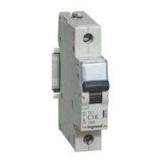 Автомат 1П 16А хар-ка C 10кА TX3 Legrand  403916