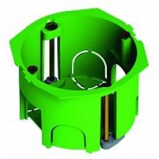 Коробка установочная 68х45мм IP30 6 вводов, пластиковые лапки (288 шт/кор)