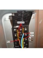 Подключение электрической плиты