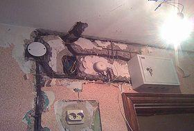 Ремонт электропроводки в панельном доме